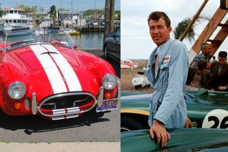 Carroll Shelby: konstruktér, podnikatel a otec vozů Cobra i Mustang GT350