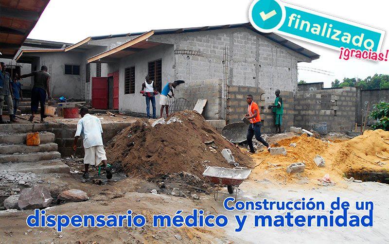 Dispensario Maternidad. R. D. Congo