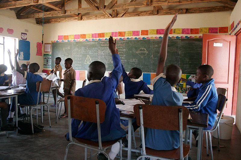 Karikoga Escolarización Zimbabwe