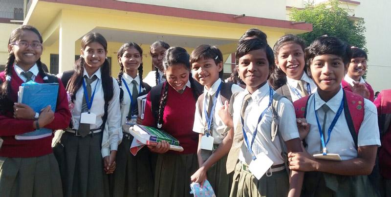La educación cambia vidas en Bisrail India