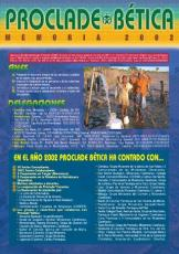 MEMORIA PROCLADE BÉTICA 2002