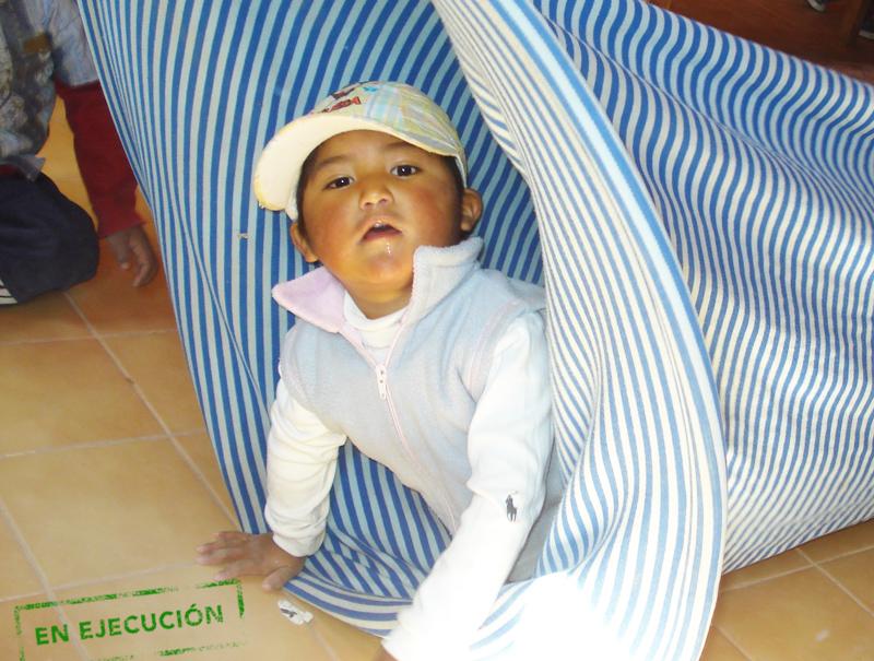 Yachay Salitas infantiles comunitarias en Argentina