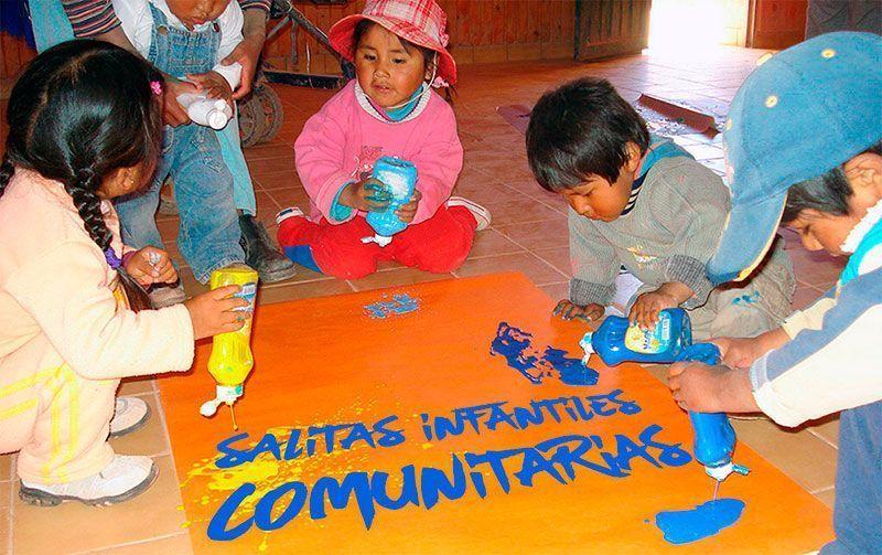 Salitas infantiles comunitarias. Yachay