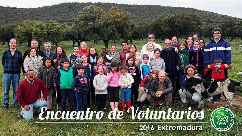 Encuentro de Voluntarios en Extremadura