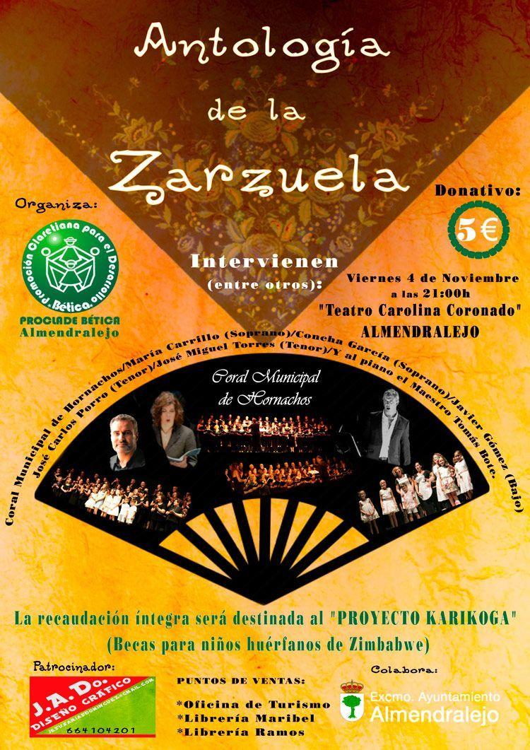 Zarzuela en Almendralejo