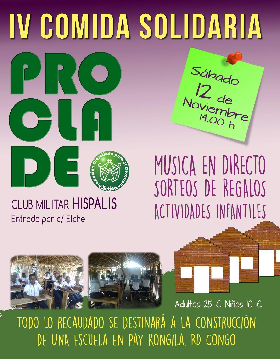 IV Comida Solidaria Proclade Bética