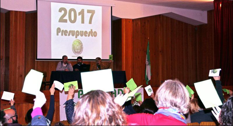 Asamblea Proclade Bética. Presupuestos 2017