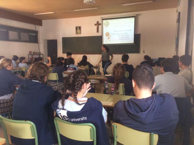 ONGD Proclade Bética en el Colegio Claret