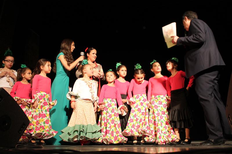 Festisol 2017 actuación de niñas