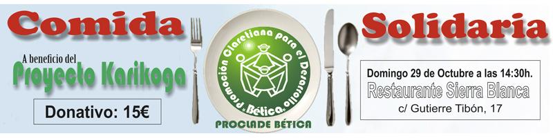 comida solidaria Granada