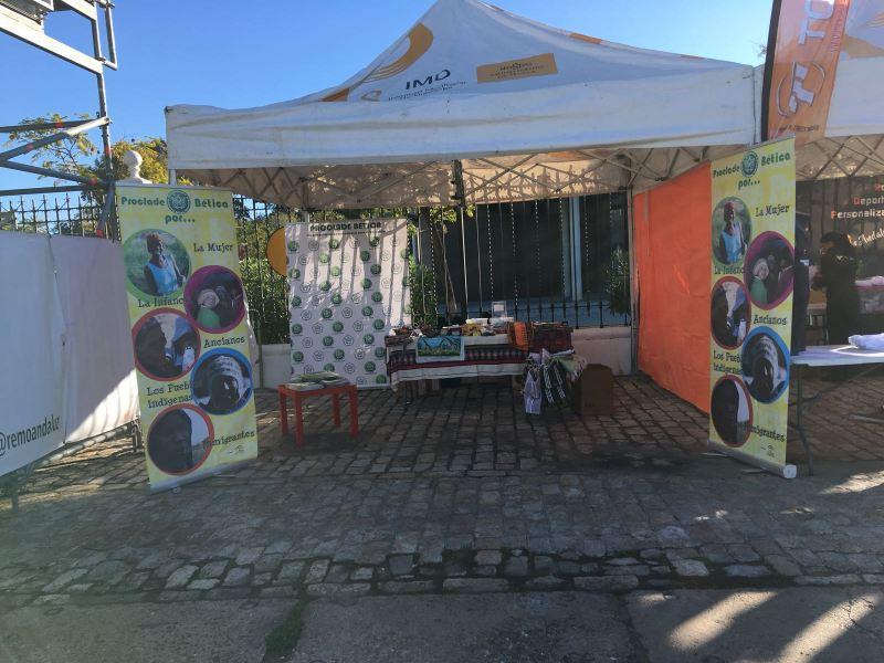 stand Proclade Bética, ONGD invitada al derbi