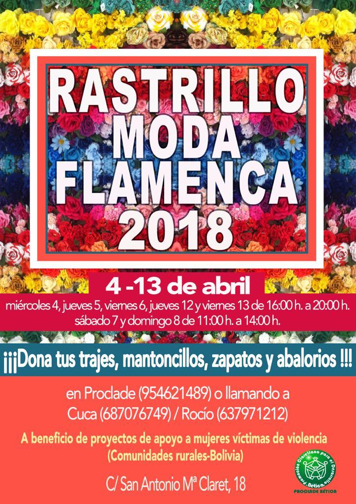 rastrillo de moda flamenca