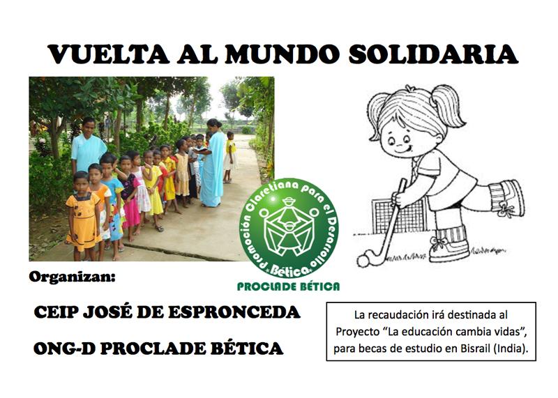 Vuelta al mundo solidaria
