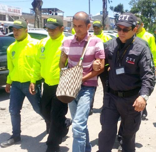 HENRY AGUSTIN PEREZ TIRADO - Capturado por el CTI en Santander de Quilichao