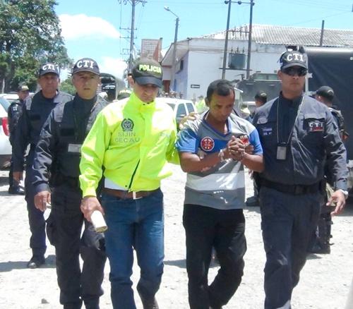 VALENTIN VALENCIA CRUZ - capturado en Santander de Quilichao