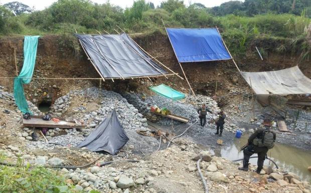 Capturan seis personas por minería ilegal en Santander de Quilichao1