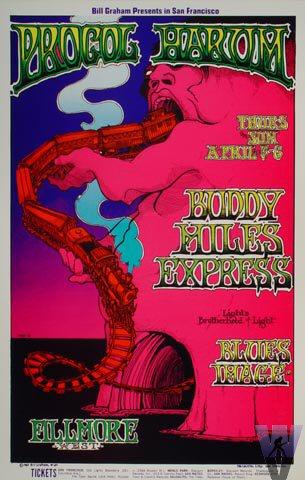 Procol Harum On Tour 1969