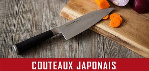 vente couteaux cuisine japonais