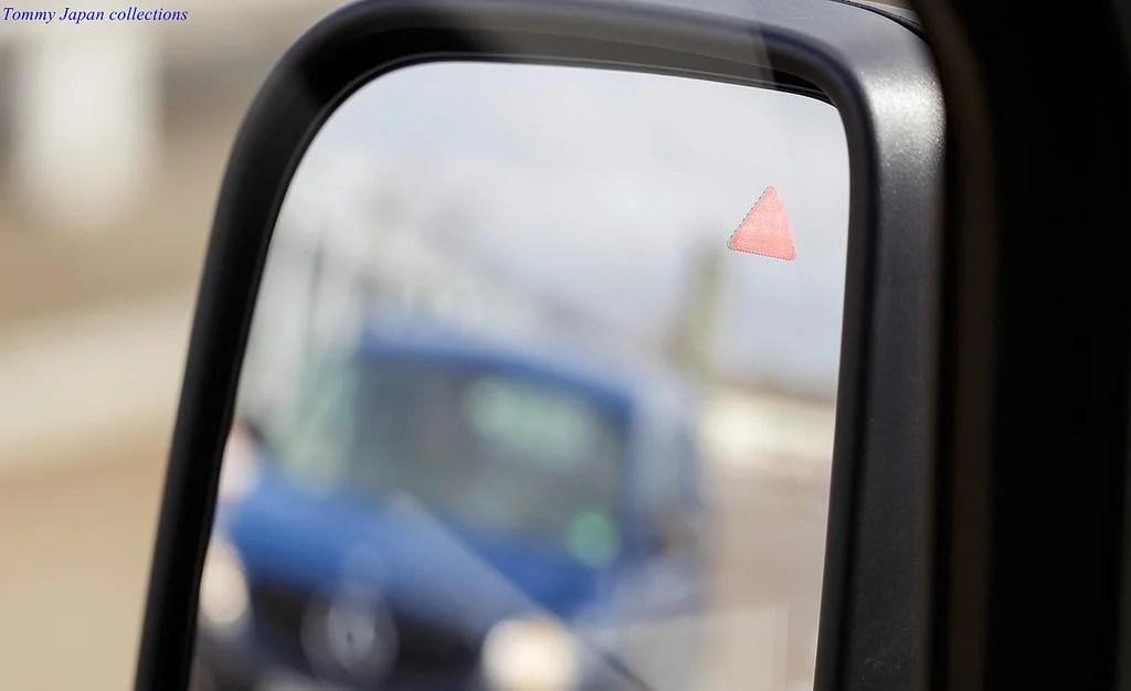 active blind spot monitoring