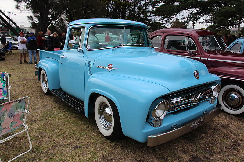 By Sicnag (1956 Ford F100 Standard Cab) [CC BY 2.0], via Wikimedia Commons