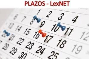 Plazos de Notificacion con LexNET