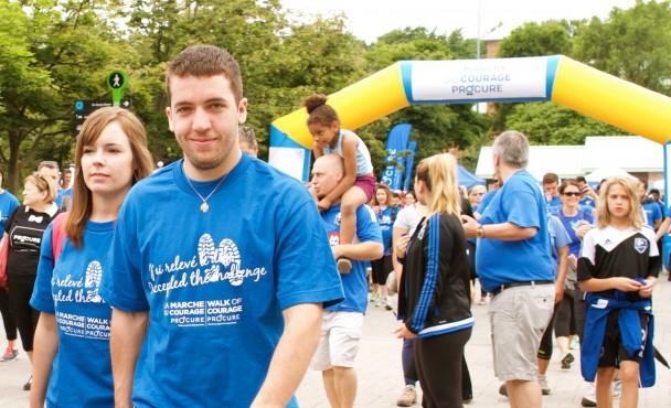 Marcher tous les jours réduit les effets du cancer de la prostate pour les survivants
