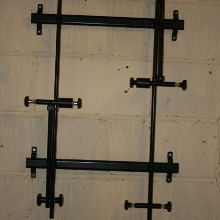 2 Bike Frame Storage Rack
