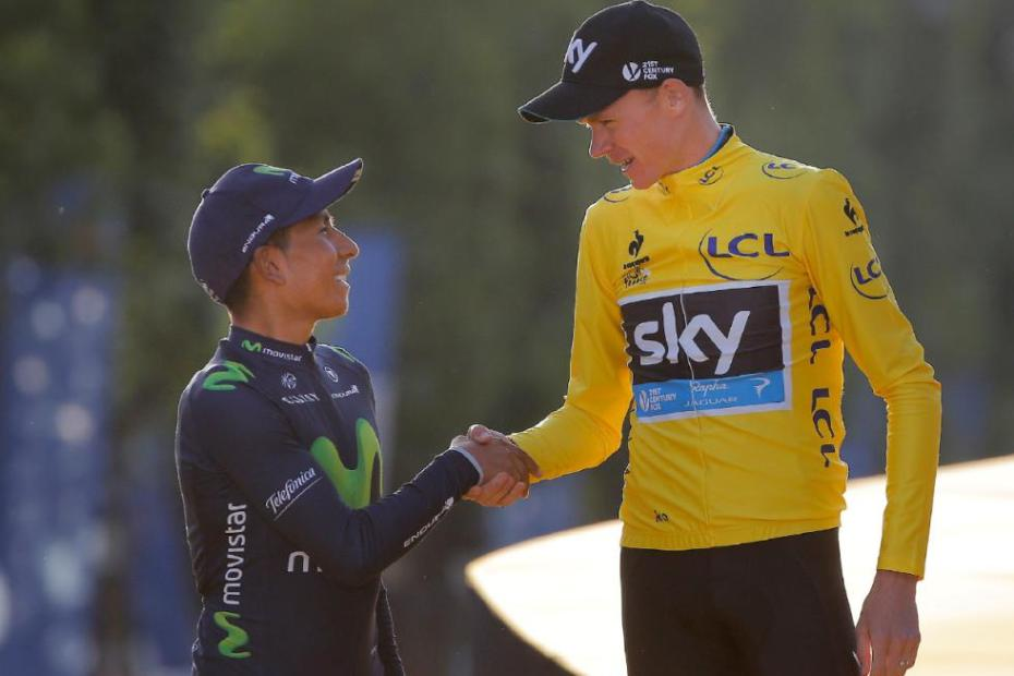 2015 Tour de France Froome Quintana