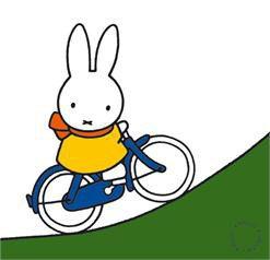 Miffy Nijntje Cycling Bike Hill Mountain