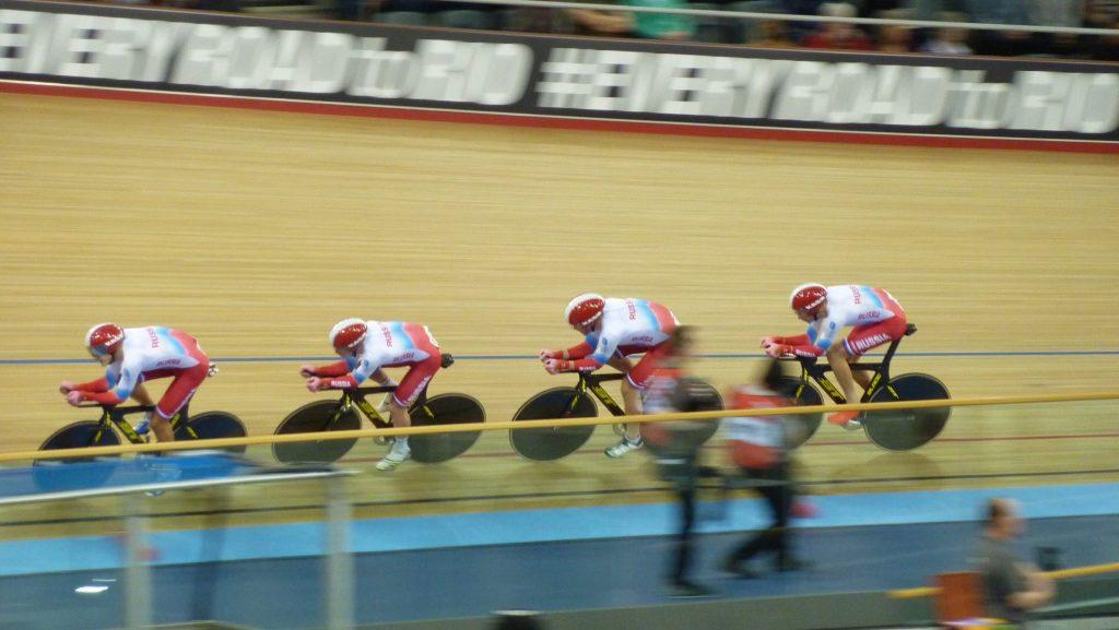 Russian Men's Team Pursuit World Track Championships 2016 London