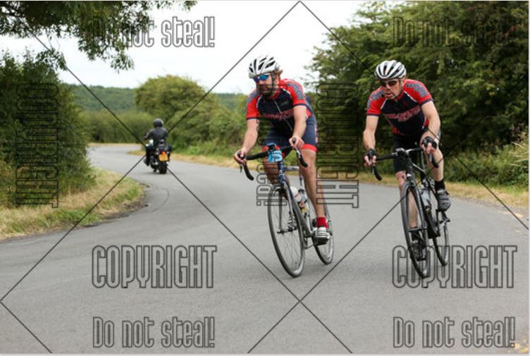 Mathew Mitchell and Mark Lampitt Hampton Lucy Great Shakespeare Ride 2016