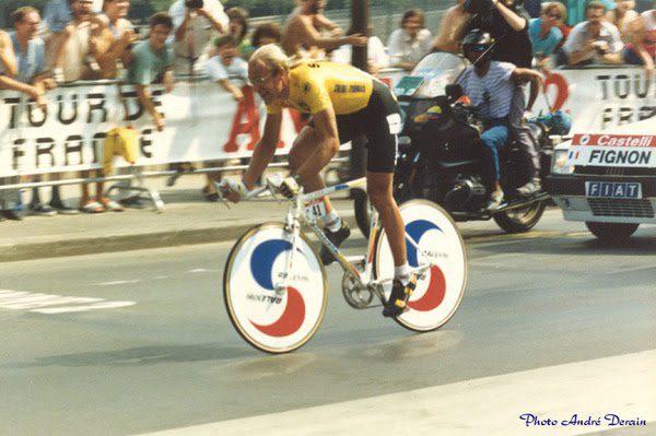Laurent Fignon 1989 Time Trial Paris Tour de France