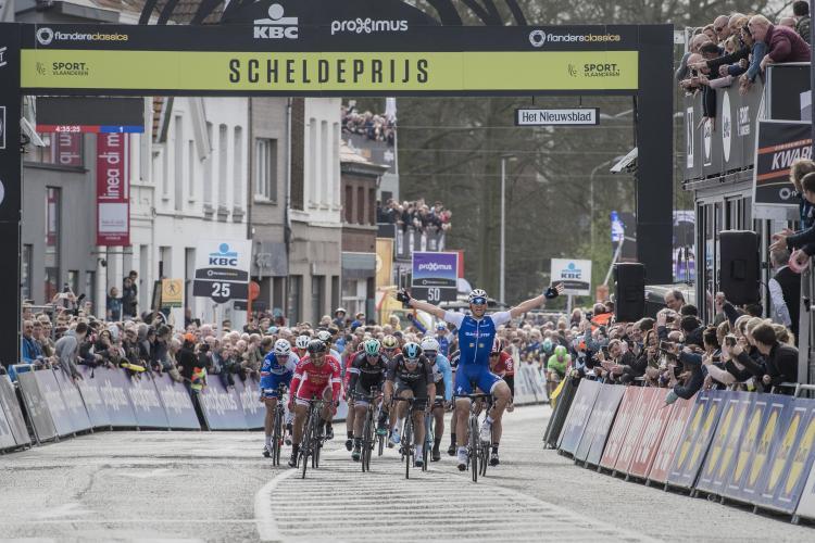 Kittel wins Scheldeprijs 2017