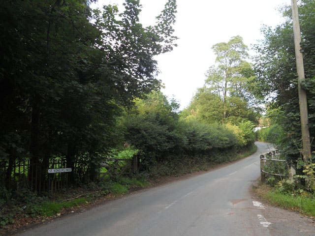 Cycling Climbs of the Midlands St Kenelm's Pass