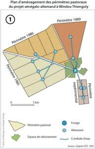 Plan d'aménagement des périmètres pastoraux du projet sénégalo-allemand à Windou Thiengoly