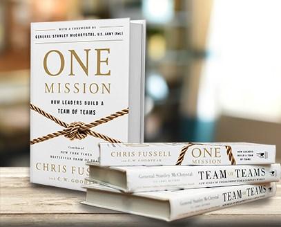 Libro Recomendado – ONE Mission, como los lideres construyen equipos de equipos