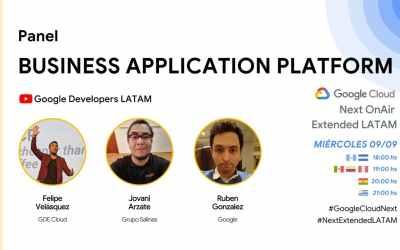 Participación en el Google Next OnAir Extended LATAM