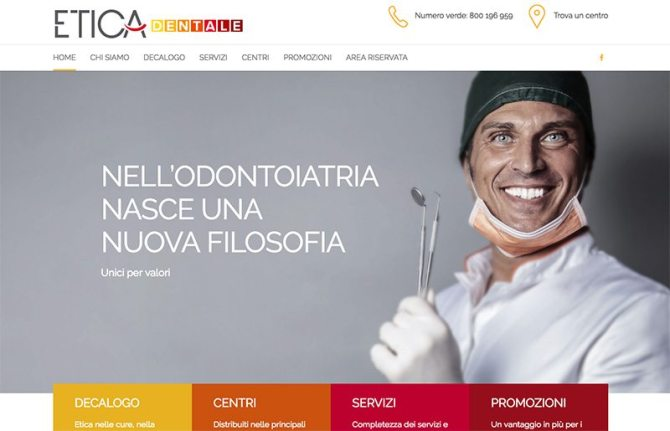 Creazione sito web centri odontoiatrici