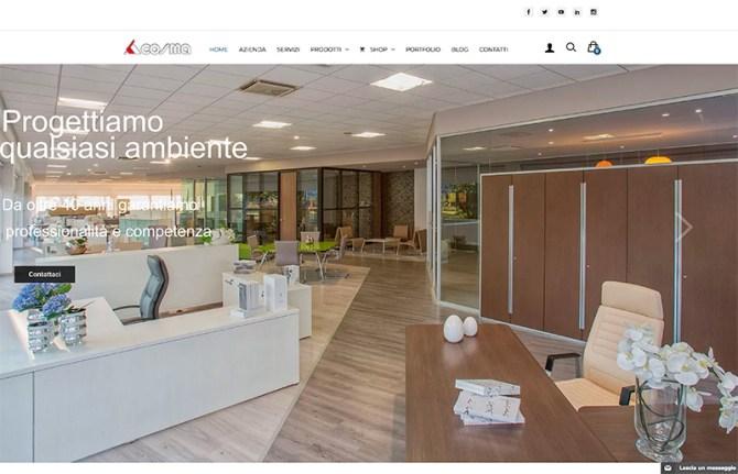 Realizzazione Sito web e-commerce Cosma Arredamenti
