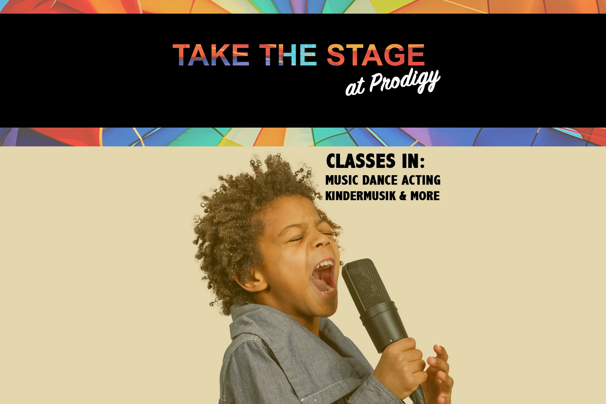 Take The Stage At Prodigy