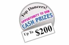 Audition Cash Prizes