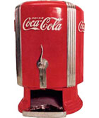 Coca cola distributeur