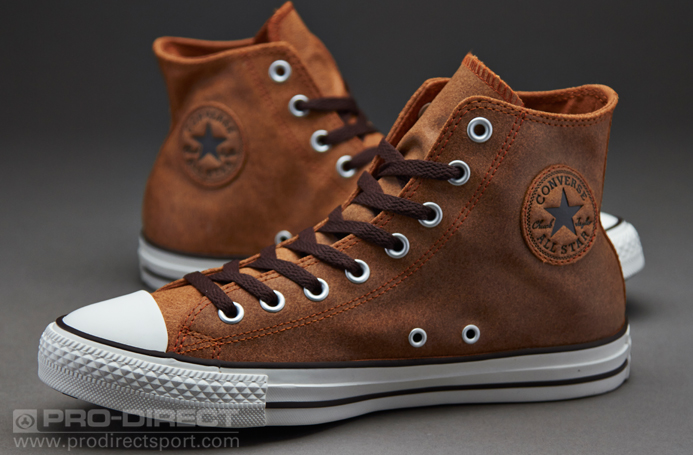 Mens Shoes Converse Chuck Taylor All Star Vintage Leather Auburn 144761c