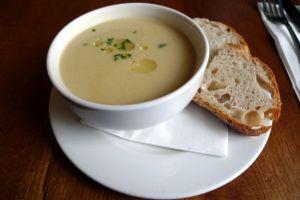 zuppa con sedano e rapa