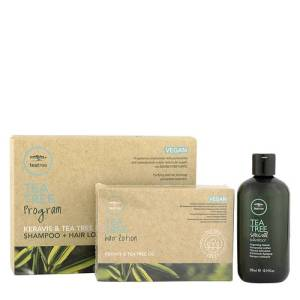 PAUL MITCHELL Tea Tree Program Keravis & Tea Tree Oil - Hair Lotion 12x6ml + Special Shampoo 300ml - Trattamento prevenzione caduta dei capelli