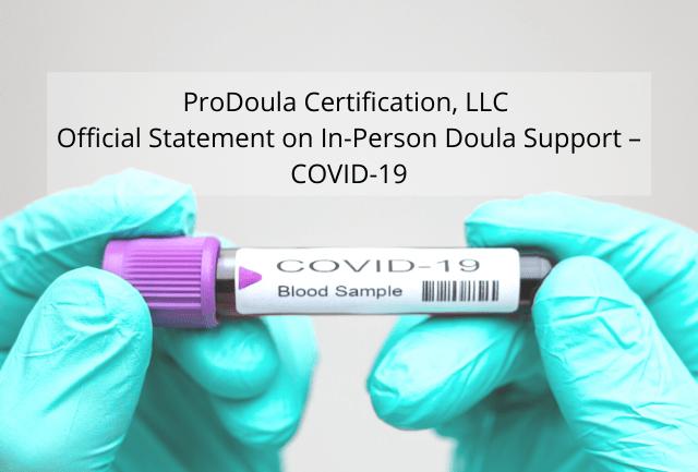 Doulas COVID- 19
