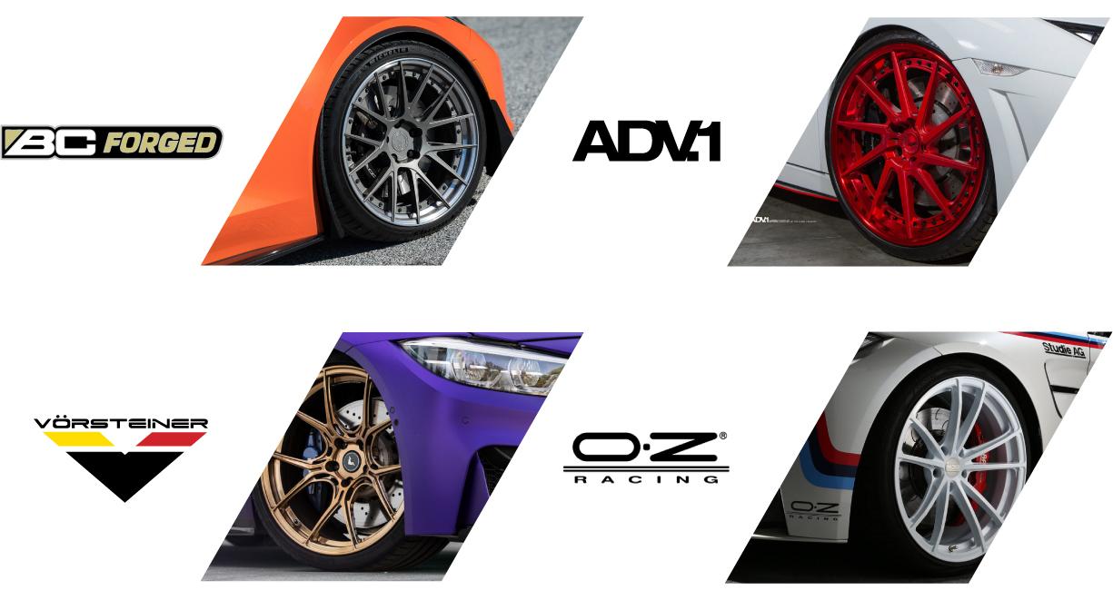 ล้อ BC Forged / ล้อ ADV.1 / ล้อ Vorsteiner / ล้อ OZ Racing