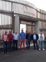 Grupo de veterinarios españoles de visita en Francia