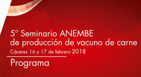 Seminario ANEMBE de Producción de Vacuno de Carne 2018