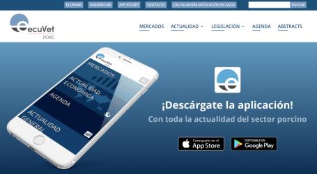 Ecuphar lanza ecuVet porc, la aplicación para móviles de los profesionales del porcino